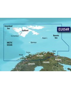 Garmin BlueChart g3 Vision - Vestfjd-Svalbard-Varanger (VEU054R)