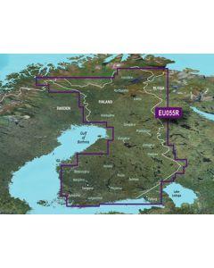Garmin BlueChart g3 Vision - Finnish Lakes (VEU055R)