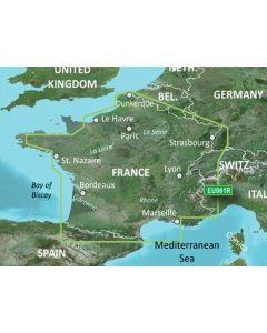 Garmin BlueChart g3 Vision - France Inland Waters (VEU061R)