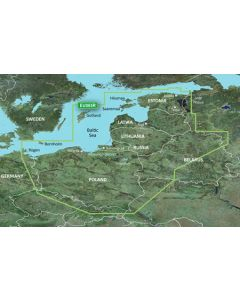 Garmin BlueChart g3 Vision - Baltic Sea, East Coast (VEU065R)