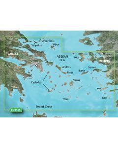Garmin BlueChart g3 Vision - Athens & Cyclades (VEU450S)