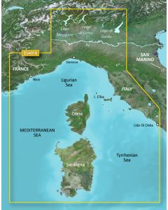 Garmin BlueChart g3 Vision - Ligurian Sea-Corsica & Sardinia (VEU451S)