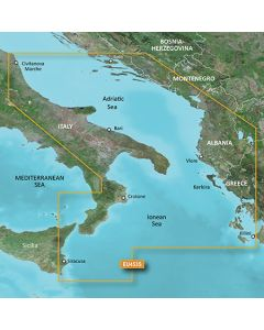 Garmin BlueChart g3 Vision - Adriatic Sea, South Coast (VEU453S)