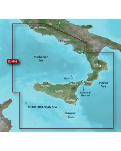 Garmin BlueChart g3 Vision - Sicily-Lido di Ostia (VEU460S)