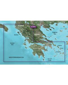 Garmin BlueChart g3 Vision - Greece West Coast & Athens (VEU490S)