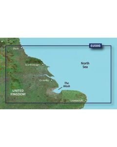 Garmin BlueChart g3 Vision - Blyth-Lowestoft (VEU500S)