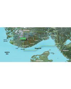 Garmin BlueChart g3 Vision - Oslo-Mandal-Smogen (VEU507S)