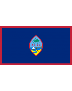 Guam Courtesy Flag