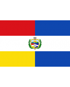 Guatemala State Courtesy Flag