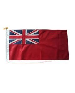2 1/2 Yd Red Ensign Sewn Polyester