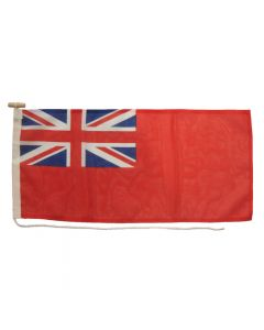 3/4 Yd Red Ensign Printed Polyester