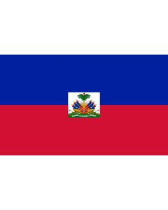 Haiti State Courtesy Flag
