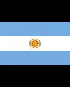 Argentine State Courtesy Flag