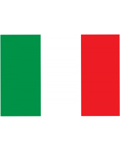 Italy National Courtesy Flag