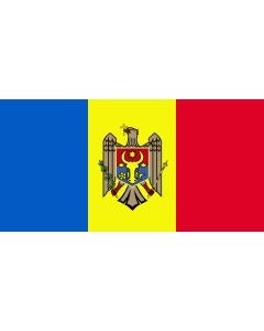 Moldova Courtesy Flag