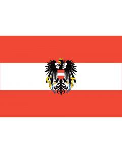 Austria State Courtesy Flag