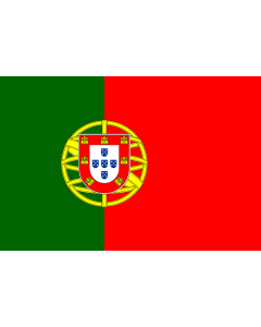 Portugal Sewn Courtesy Flag