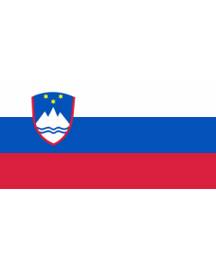 Slovenia Courtesy Flag