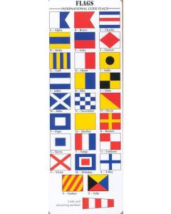 Code Flag Set 15 X 12 with Roll