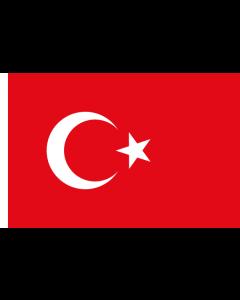 Turkey Courtesy Flag
