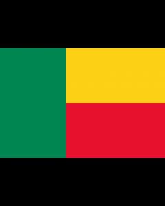 Benin Courtesy Flag