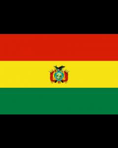 Bolivia State Courtesy Flag