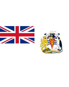British Antarctic Territory Courtesy Flag