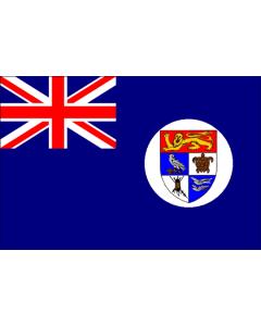 British Solomon Islands Courtesy Flag