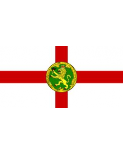 Alderney 12x9-Inch Courtesy Flag Polyester