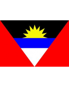 Antigua & Barbuda 12 x 9 Coutesy Flag Polyester