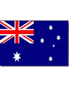 Australia 12 x 9 Courtesy Flag Polyester