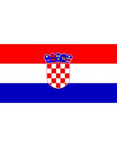 Croatia 12 x 9 Courtesy Flag Polyester