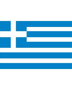 Greece 12 X 9 Courtesy Flag Polyester