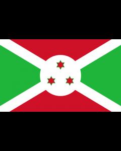 Burundi Courtesy Flag