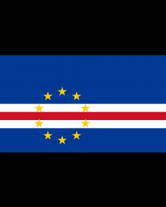 Cape Verdi, Republic Of Courtesy Flag