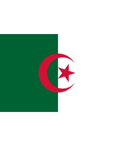 Algeria Courtesy Flag