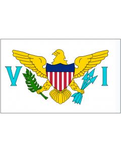American Virgin Islands Courtesy Flag