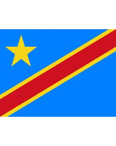 Congo, Democratic Republic Courtesy Flag