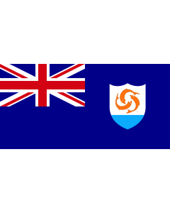Anguilla Courtesy Flag