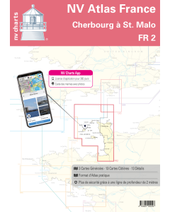 FR 2: NV.Atlas France: Cherbourg à St. Malo (Iles Anglo-Normandes)