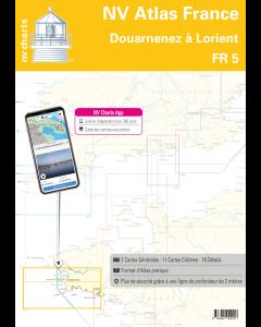 FR 5: NV.Atlas France: Douarnenez à Lorient