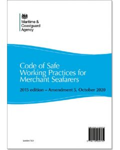 Code of Safe Working Practices for Merchant Seafarers (COSWP) 2015 edition - Amendment 5