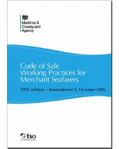 Code of Safe Working Practices for Merchant Seafarers (COSWP) 2015 edition - Amendment 1