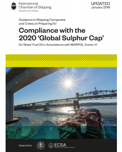 Compliance with the 2020 'Global Sulphur Cap'