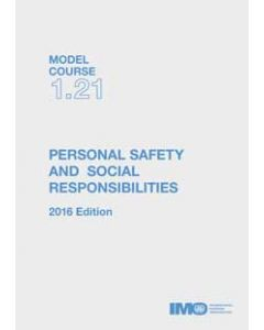Model course: Personal Safety & Social Responsibilities (2016 Edition)