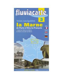 Fluviacarte Guide 3 - La Marne Paris to Vitry-le-François