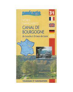 Fluviacarte Guide 31 - La Bourgogne Mignenne to St Jean