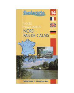 Fluviacarte Guide 14 - Nord Pas-de-Calais - [Reprinting - No Due Date]