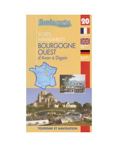 Fluviacarte Guide 20 Bourgogne Ouest