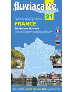 Fluviacarte Guide 21 - France